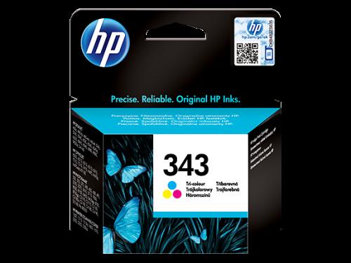 HP 343 Tricolour Standard Capacity Ink Cartridge 7ml C8766E