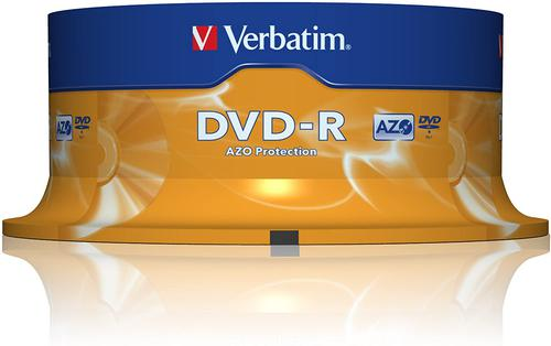 Verbatim DVD-R 4.7GB Spindle of 25