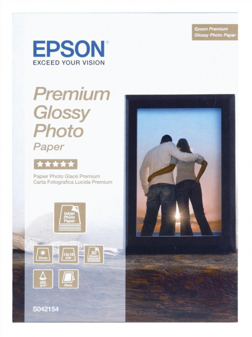 Epson C13S042154 Glossy Photo 13x18cm 30 Sheets