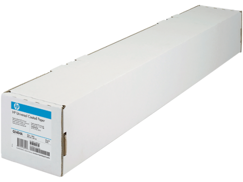 HP Universal Coated Paper Roll 95gsm 610mm x 45.7m White Q1404A