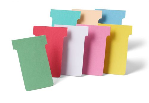 Nobo T-Cards A110 Size 4 Pink (Pack 100) 32938927