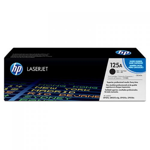OEM HP CB540A Black 2200 Pages Original Toner