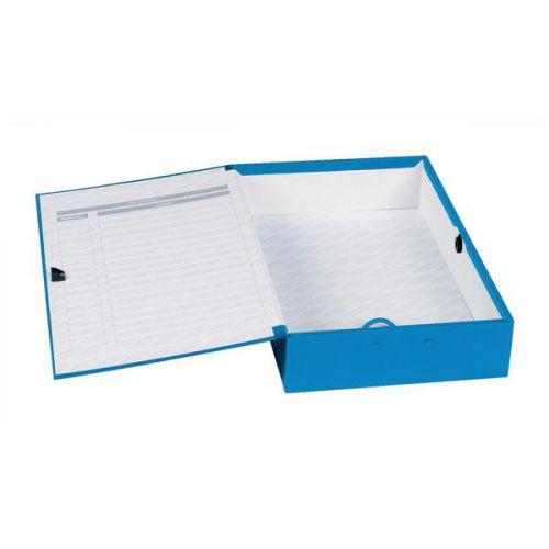 Concord Classic Box File Foolscap Blue PK5