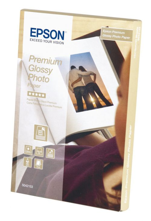 Epson Glossy Photo Paper 10x15cm 40 Sheets - C13S042153