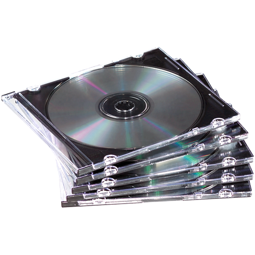 ValueX CD Jewel Case Slimline Clear 98316 (Pack 25)