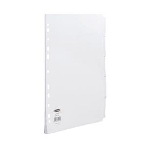ValueX Divider A4 5 Part Multipunched White Card 79901