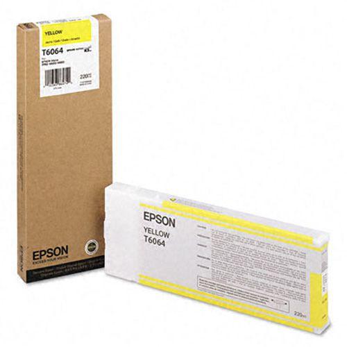 Epson C13T606400 T6064 Yellow Ink 220ml