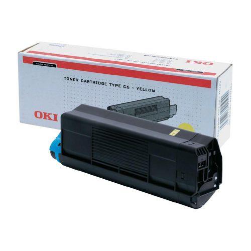 Oki 42804505 3K Pages Yellow Toner Cartridge