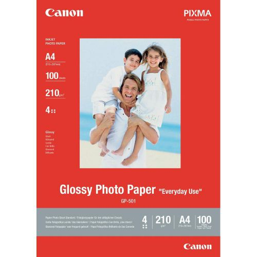 Canon 0775B001 GP501 Gloss Photo Paper A4 100 Sheets