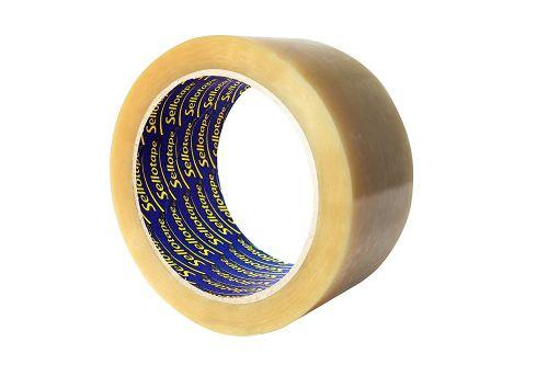 Sellotape Polypropylene Tape 50mmx66m Clear PK6