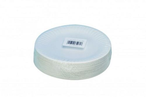 ValueX Paper Plates (7 inch) White (Pack 100)
