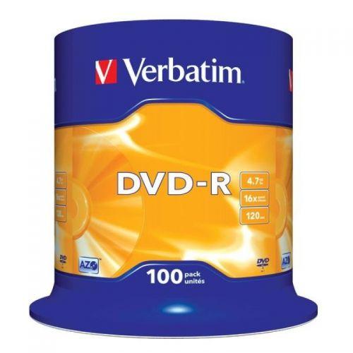 Verbatim 43549 DVD+R 4.7GB 100Pk