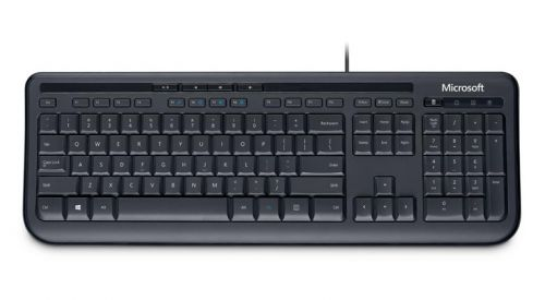 Microsoft Wired Keyboard 600 Black Anb-00006 by Microsoft, MSF74164