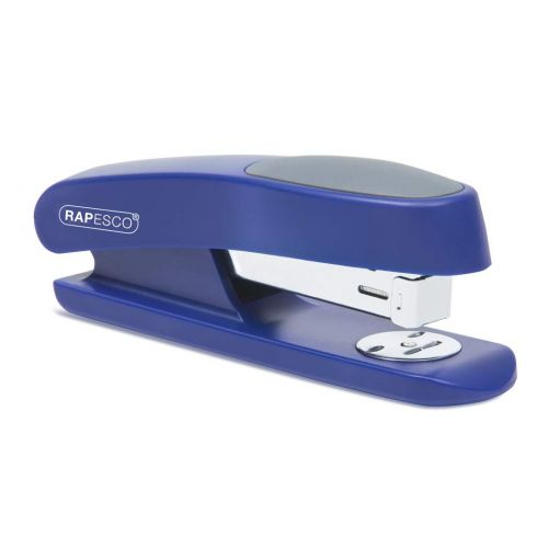 Rapesco R7 Half Strip Office Stapler Blue