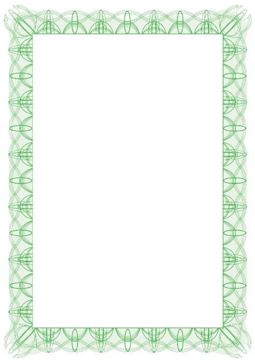 Computer Craft Certificate Papers with Foil Seals 90gsm A4 Green Wave CCC2020 [Pack 30]