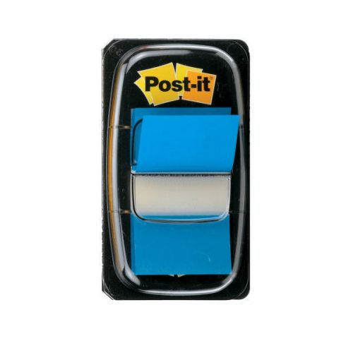 Post-it Index Flags 25mm 50 Tabs Blue PK12