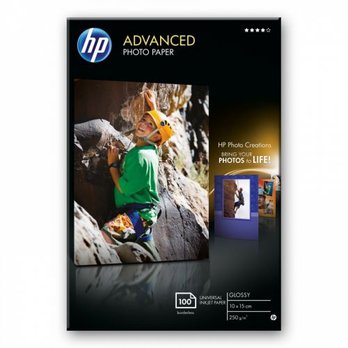 HP Q8692A Glossy Photo Paper 10x15cm Pack 100