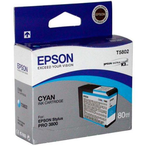 Epson C13T580200 T5802 Cyan Ink 80ml