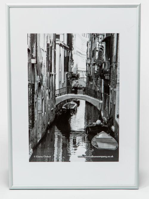 Photo Album Co A2 Poster Frame Silver Aluminium In Classic Satin