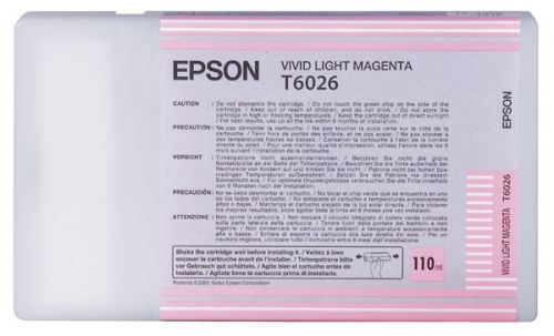 Epson C13T602600 T6026 Vivid Light Magenta Ink 110ml