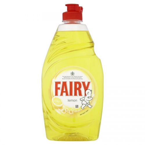Fairy Washing Up Liquid Lemon Zest 433ml (Pack 2) 1015072