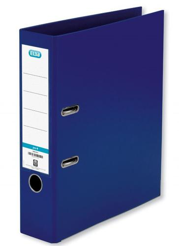 Elba PP Lever Arch File A4 80mm Spine Blue