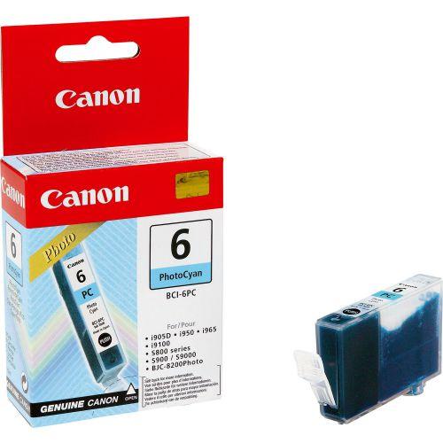 Canon 4709A002 BCI6 Photo Cyan Ink 13ml