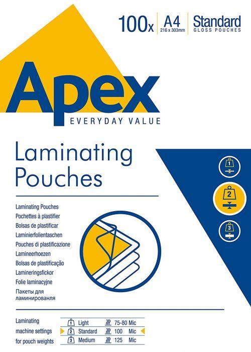 ValueX Laminating Pouch A4 2x100mu 6003301 (PK100)