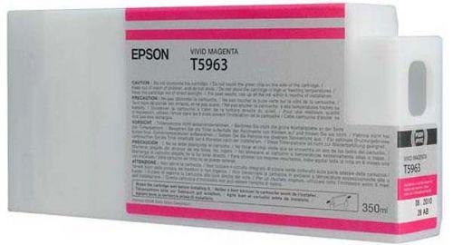 Epson C13T596300 T5963 Vivid Magenta Ink 350ml