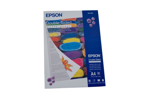 Epson C13S041569 Double Sided Matte Paper A4 Pack 50