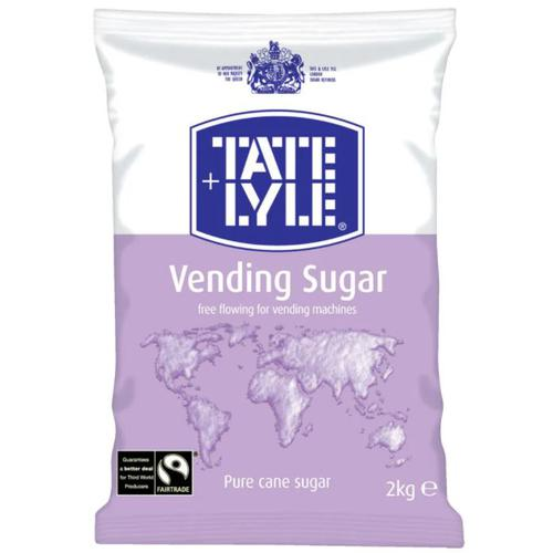 Tate & Lyle Vending Sugar 2Kg Bag For Dispensing Machines