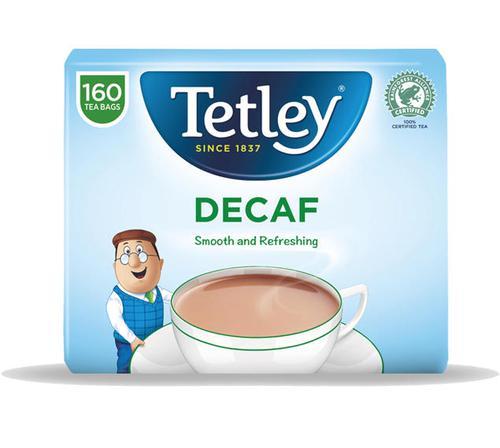 Tetley Tea Bags Decaffeinated High Quality PK160