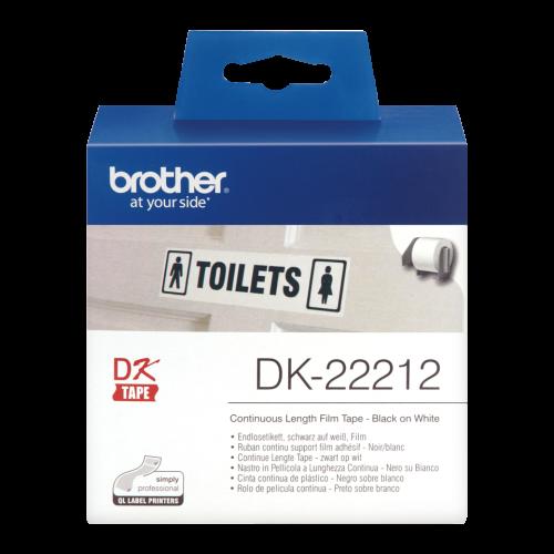 Brother DK22212 White Film Roll 62mmx15m