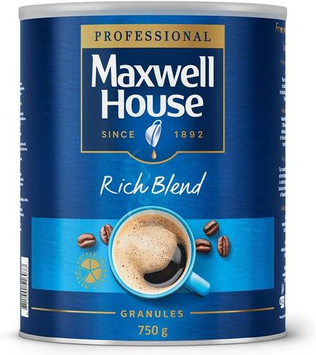 Maxwell House Instant Coffee Granules 750g