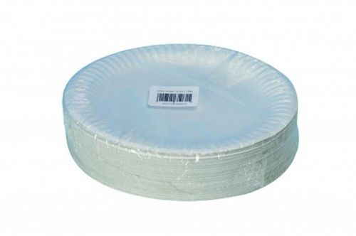 ValueX Paper Plates (9 inch) White (Pack 100)