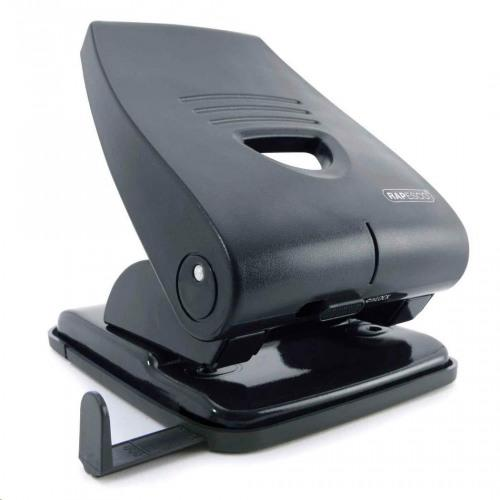 Rapesco Germ Savvy Heavy Duty 2 Hole Punch 40 Sheet Black