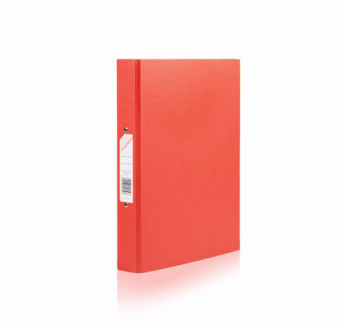 Centurion Classic Ring Binder 2-O-Ring 25mm A4 Red (Pack 10)