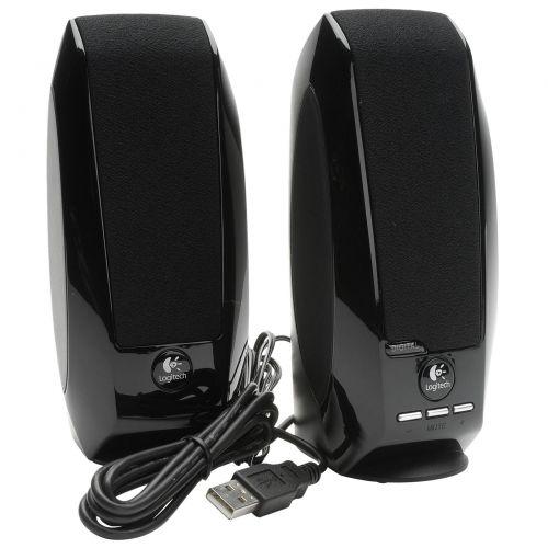 Logitech S150 Multimedia Speaker System BK