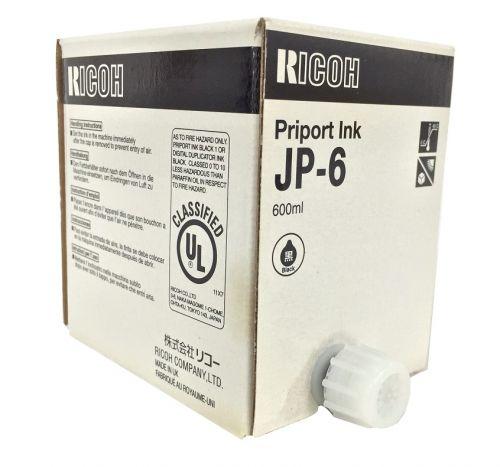 Ricoh JP1010 Ink Cartridge  Black 893058 JP6