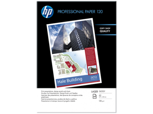 HP Professional Laser Paper Gloss A3 Ref CG969A [250 Sheets]