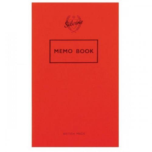 Silvine Memo Book 159X95MM 36 Leaf PK24