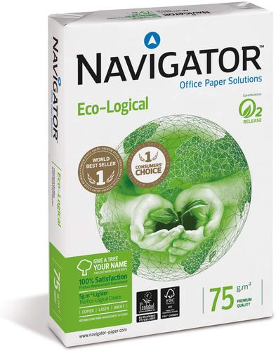 Navigator Ecological Paper 75gsm A4 BX5 reams