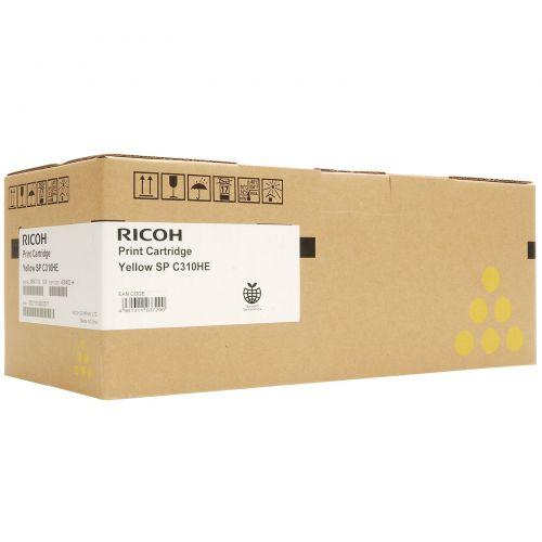 Ricoh C310E Yellow Toner Cartridge Standard Capacity 6K - 406482
