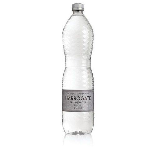 Harrogate Sparkling Water Plastic Bottle 1.5 litres Pack 12