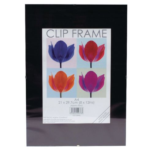 Photo Album Co A4 CertificateFrameless Clip Frame