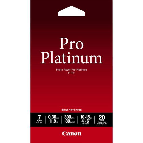 Canon 2768B013 Pro Photo Paper 20 Pack 4X6