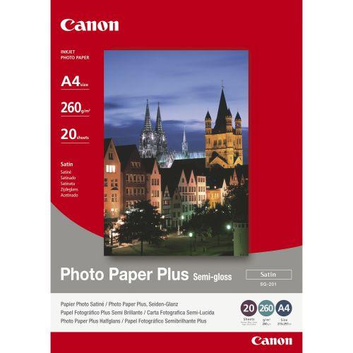 Canon 1686B021 Semi Gloss Photo Paper A4 20 Sheets