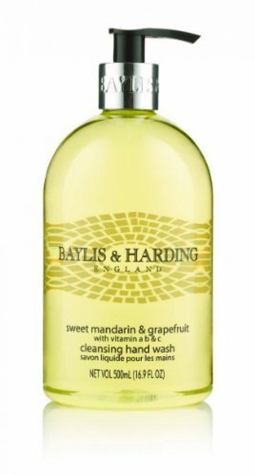 Baylis & Harding Mandarin/Grapefruit Wash 500ml (Pack Of 3) 604242