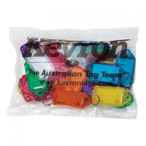 Kevron Clicktag Key Tag Giant Assorted ID30AC25 [Bag 25]