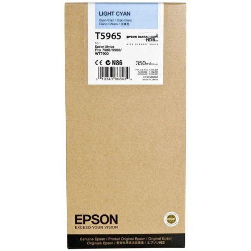 Epson C13T596500 T5965 Light Cyan Ink 350ml